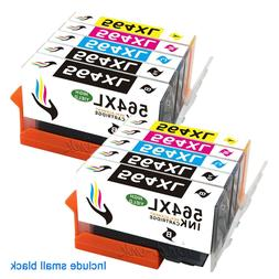 10 Combo Pack Ink Cartridges New Chip For HP 564XL 564 Photo