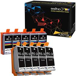 Cartlee 10 Compatible PGI-35 CLI-36 High Yield Ink Cartridge