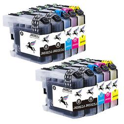 10 Pack LC203 XL Ink Cartridge Set for Brother Printer MFC-J