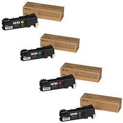 Xerox High Yield Black and Standard Yield Color Toner Cartri