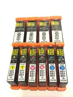 10Pack 100XL Ink Cartridges for Lexmark Prevail Pro705 Prosp