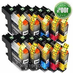 10PK LC203 XL High Yield Compatible Ink Cartridges For Broth