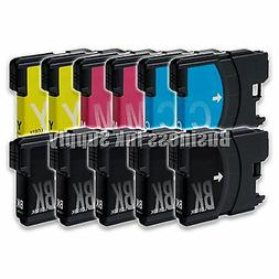 11 Pack NEW LC61 Ink Cartridges for brother printer LC61BK L