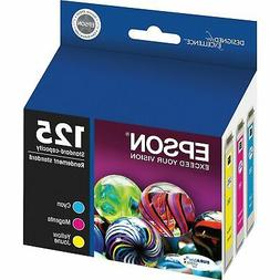 Epson 125 Multi-Pack Standard Capacity,  Ink Cartridge T1