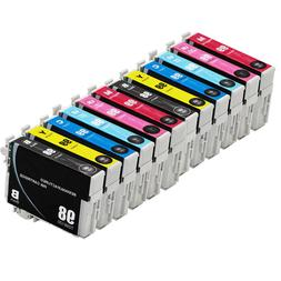 12PK Reman Ink Cartridges for 98 99 fit Epson Artisan 700 72