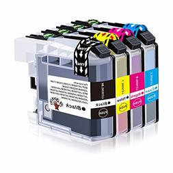 GREENSKY 4 Pack Compatible Ink Cartridge Replacement for Bro