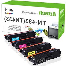 Aztech TN433 High Yield Toner Cartridge Compatible for Broth