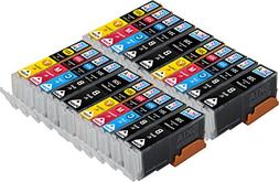 20 pack Skia Compatible Canon Ink Cartridge CLI251 PGI250 fo