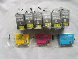 Office World 252XL Color/6 Black Ink Cartridges and Yellow B