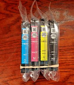 Epson 288 NEW Genuine OEM Sealed 288-i Ink Set of 4 CMYK XP