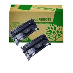2pk black ink toner cartridge fit HP 26A CF226A LaserJet Pro