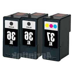3 pack ink set for lexmark 36xl