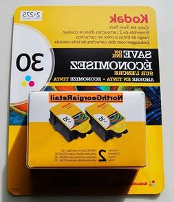 Kodak 30 Series Color Ink Cartridge - Twin Pack