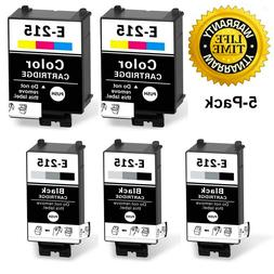 3BK 2C Compatible Ink Cartridges T215 for Epson Workforce WF