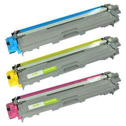3PK TN225 TN-225 CYM Color Toner Cartridge for Brother MFC-9