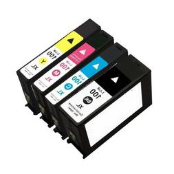 4 Lexmark 100XL INK Cartridges for S405 S305 901