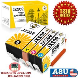 4 High Yield 902 XL Ink Cartridges for HP OfficeJet Pro 6951