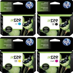 4-PACK HP GENUINE 952XL Black & Color Ink  for OFFICEJET PRO