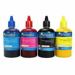 4 Pack Sublimation Dye Refill Ink For Epson CX5800 CX7800 CX