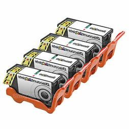4PK Compatible 330-5275 BLACK Ink for Dell Y498D Series 21 C