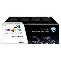 HP 410A Toner Cartridge Cyan, Yellow & Magenta, 3 Toner Cart
