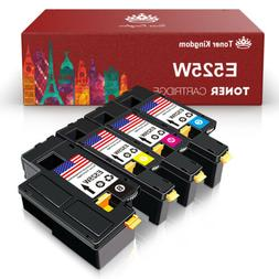 4Pack E525W Toner Cartridges H3M8P VR3NV WN8M9 MWR7R Ink for