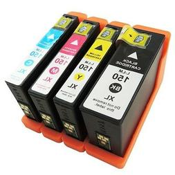 4Pk 150XL Ink Cartridges For Lexmark 150 XL  Pro715 Pro 915