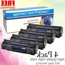 4PK CE278A 78A Laser Ink Toner Cartridges for HP LaserJet M1