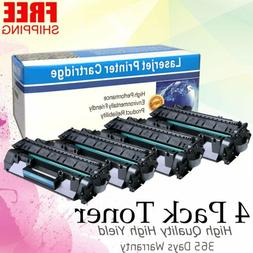 4pk CE505A 05A Ink Toner Cartridges For HP LaserJet P2035n P