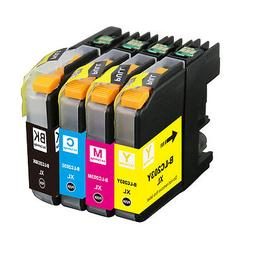 4pk NEW LC-203XL Ink Set Combo For Brother Printer MFC-J460D