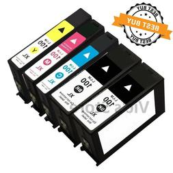 5 PK BLACK & COLOR Ink Cartridges For Lexmark 100XL 100 XL