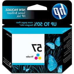 HP C6657AN 57 Tri-Color Original Ink Cartridge For Deskjet 4