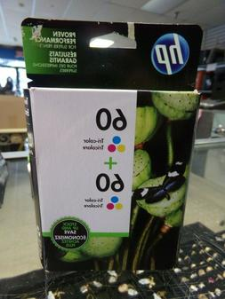 HP 60 Tri-color Original Ink Cartridges, 2 pack