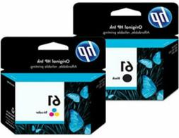 HP #61 2pack Combo Ink Cartridges 61 Black and Color NEW GEN