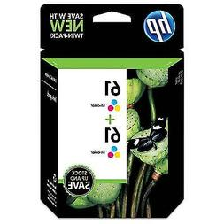 HP 61 Tricolor Original Ink Cartridges, 2 pack
