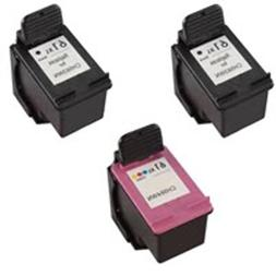 Amsahr 61XLBK Remanufactured Replacement HP Ink Cartridges f