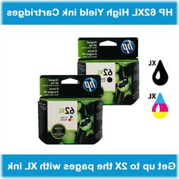 HP 62XL High-Yield Single or Multi-Pack Ink Cartridges  EXP