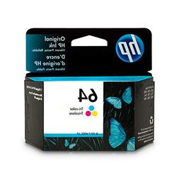 HP 64 Tri-Color Original Ink Cartridge  for HP Envy Photo 62