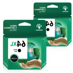 64 XL Ink Cartridges for HP ENVY Photo 6220 6230 6252 6255 7