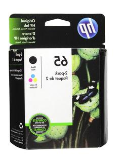 HP #65 2pack Combo Ink Cartridges 65 Black and Color NEW GEN