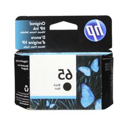 HP #65 Black Ink Cartridge 65 N9K02AN NEW GENUINE
