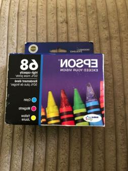 68 color ink cartridges cmy high capacity