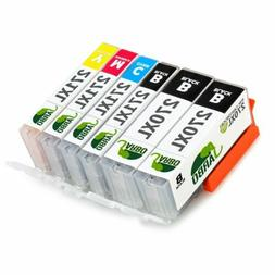 6PK JARBO Ink Cartridges for Canon PGI-270XL CLI-271XL for P