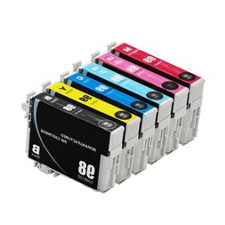 6PK Reman Ink Cartridges for 98 99 fit Epson Artisan 700 725