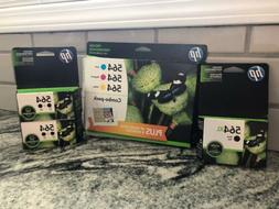 8 Ink Cartridges! HP 564XL BLACK & 564 TRICOLOR COMBO PACK A