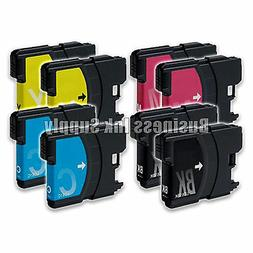 8 Pack NEW LC61 Ink Cartridges for brother printer LC61BK LC
