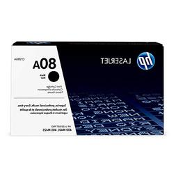 HP 80 Original Laser Jet Toner Cartridge, Black - 2,700 Yiel