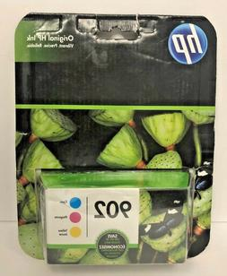 HP 902 Ink Cartridges Cyan Magenta Yellow 3 Pack T0A38AN NEW
