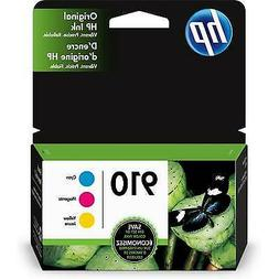 HP 910 | 3 Ink Cartridges | Cyan, Magenta, Yellow | 3YL58AN,