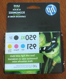 HP 950XL/951 High Yield Black and Standard Color Ink Cartrid